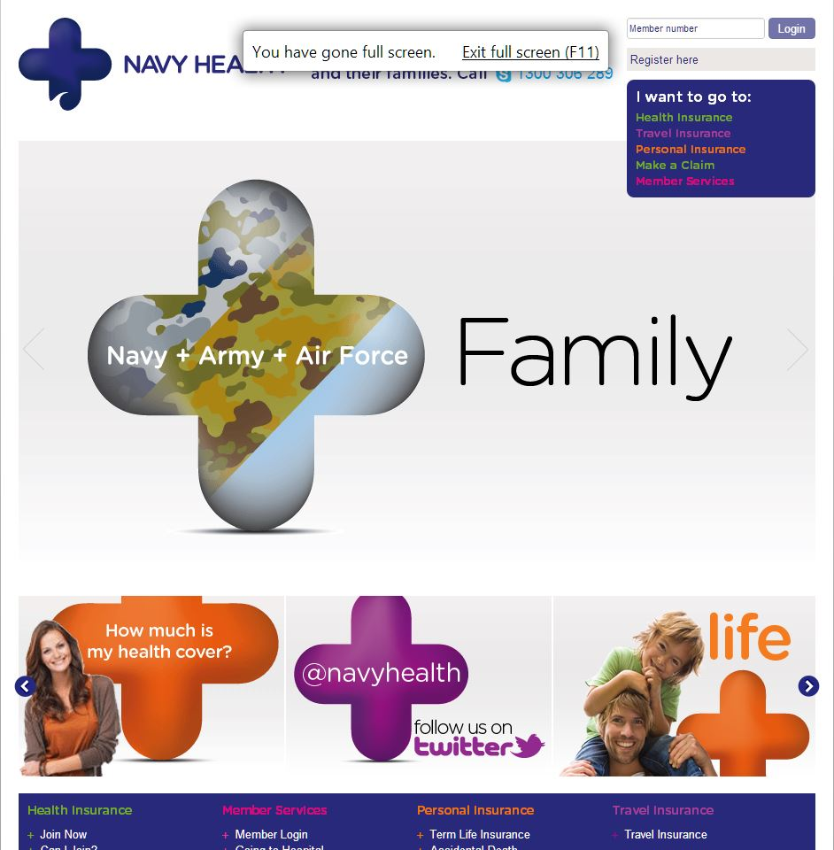 NAVY HEALTH LTD