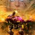Fondo de pantalla escorpión con piloto legendario War Robots