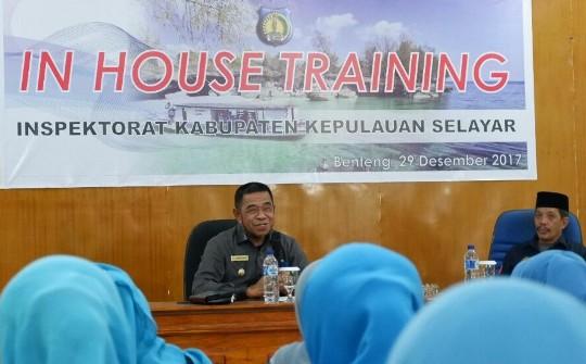 Wakil Bupati Beri Arahan, Pada Auditor Inspektorat Dan P2UPD