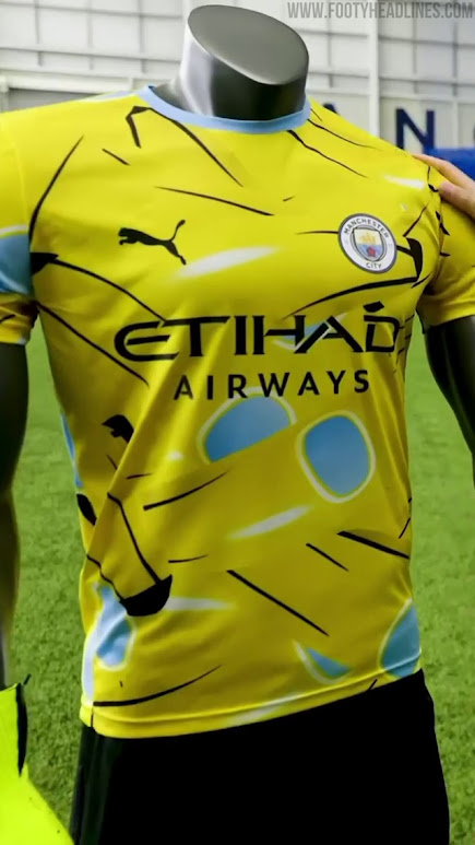 Banana-Inspired Man City 21-22 Goalkeeper Kit Unveiled? - Footy ...
