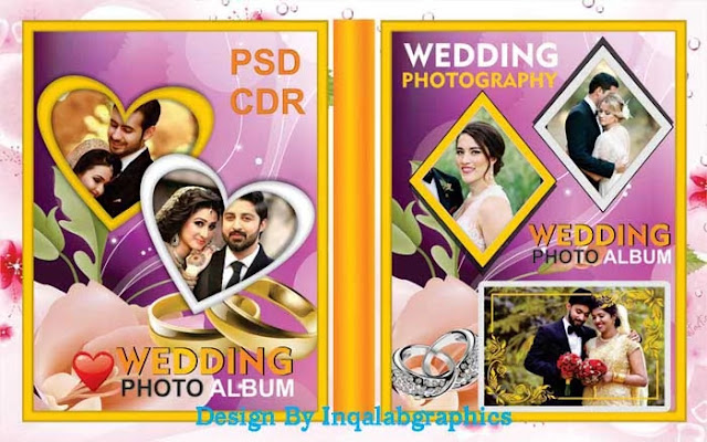 Wedding Photo Album Design Templates