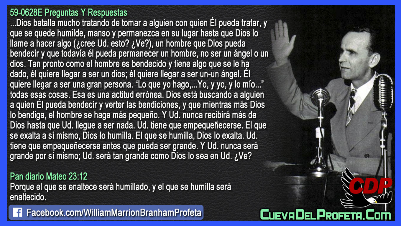 Hasta que usted llegue a ser nada - William Branham en Español