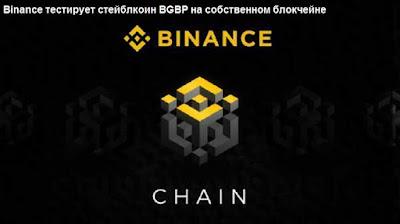 Binance тестирует стейблкоин BGBP на собственном блокчейне