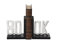 Book Word Bookends - Gift Ideas for Bookworms and Book Lover Gift Guide