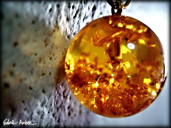 Black amber (about 15%) is basically any color of amber high in content of natural inclusions such as debris, plants, soil. It is attractive because it has natural rough look. It is sought after by people who want to get Baltic amber for its healing properties.