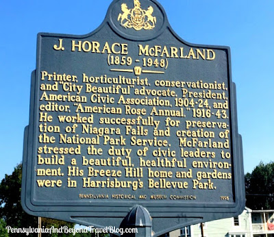 J. Horace McFarland Historical Marker in Harrisburg Pennsylvania