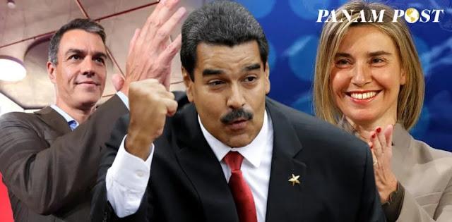 España y la Unión Europea, cómplices de la dictadura de Maduro