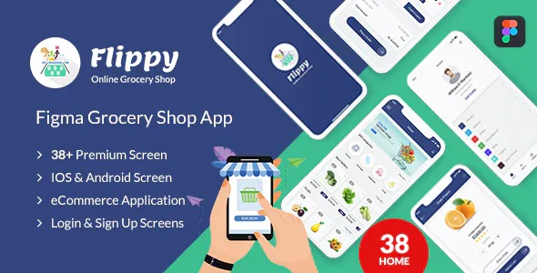 best figma grocery mobile application