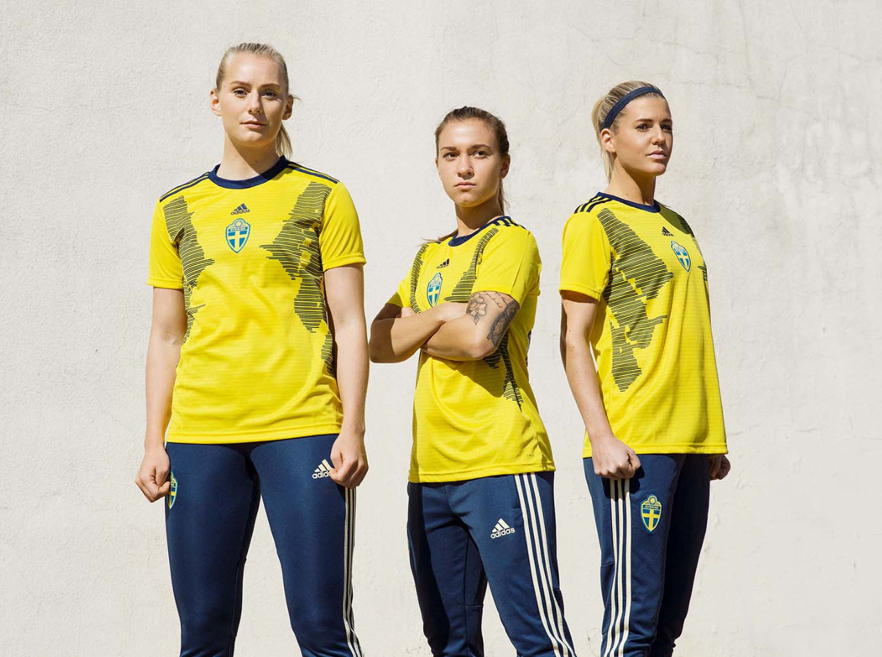 0355588ab9d Adidas Sweden 2019 Women s World Cup Kit Features Unique Numbers - All You  Need To Know