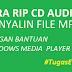 Mengambil File MP3 dari CD Audio (Ripping CD)