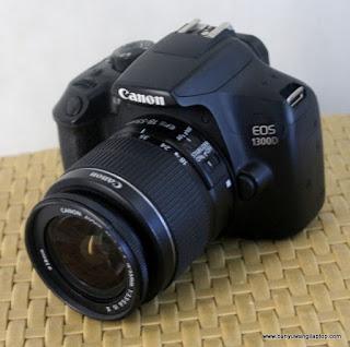 Jual Kamera Dslr Canon 1300D Wifi Bekas  Banyuwangi