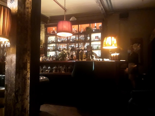 1920s themed bar Art of Duplicity interior, Cape Town