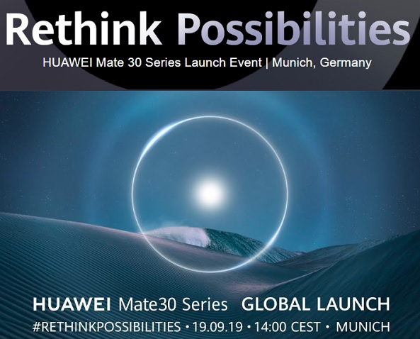 How to Watch the Huawei Mate 30 Series Launch Event Livestream Online