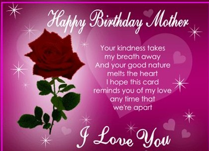 Birthday Wishes and Messages for Mom