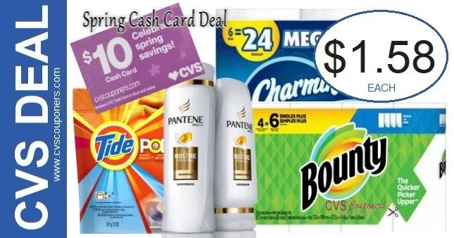 Must Do CVS Spring Cash Card Deal