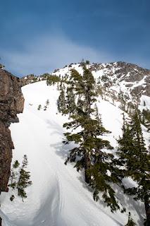 H'kusam-Stowe Peak col, A view of Stowe Peak , Prince of Whales Range on Vancouver Island