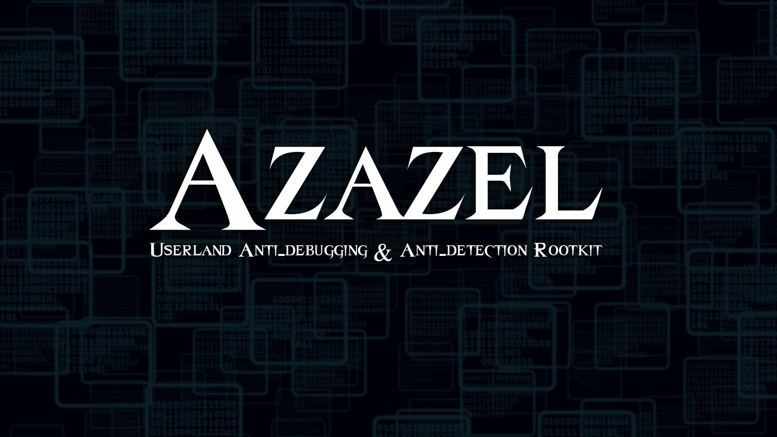 Azazel Userland Rootkit