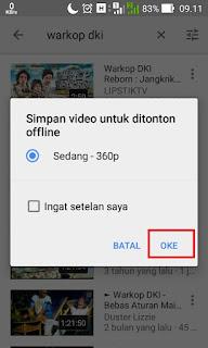 Cara Menonton Video YouTube Offline Tanpa Kuota