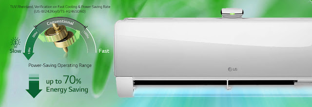 AC LG DUALCOOL with Watt Control, AC Dual Inverter Paling Hemat Energi di Indonesia