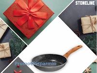 Logo Stoneline ''Calendario dell'Avvento'': vinci gratis pentole, padelle e non solo