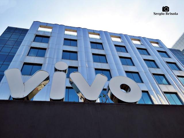 Vista da fachada do Teatro Vivo São Paulo - Vila Gertrudes - São Paulo