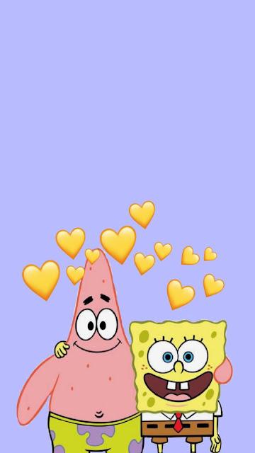 iphone cute spongebob wallpaper