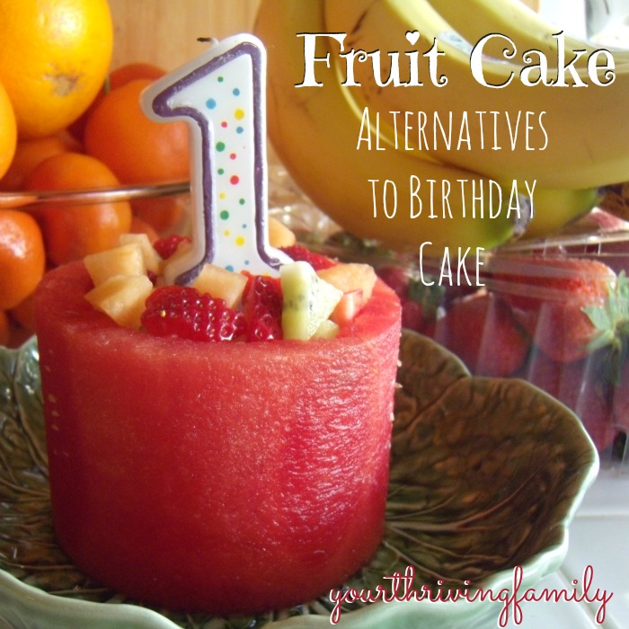 A New Kind Of Fruit Cake And Healthy Alternatives For Traditionalbirthday