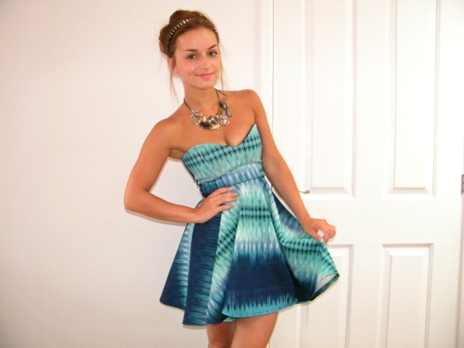Karma Clothing Tie Dye Dress