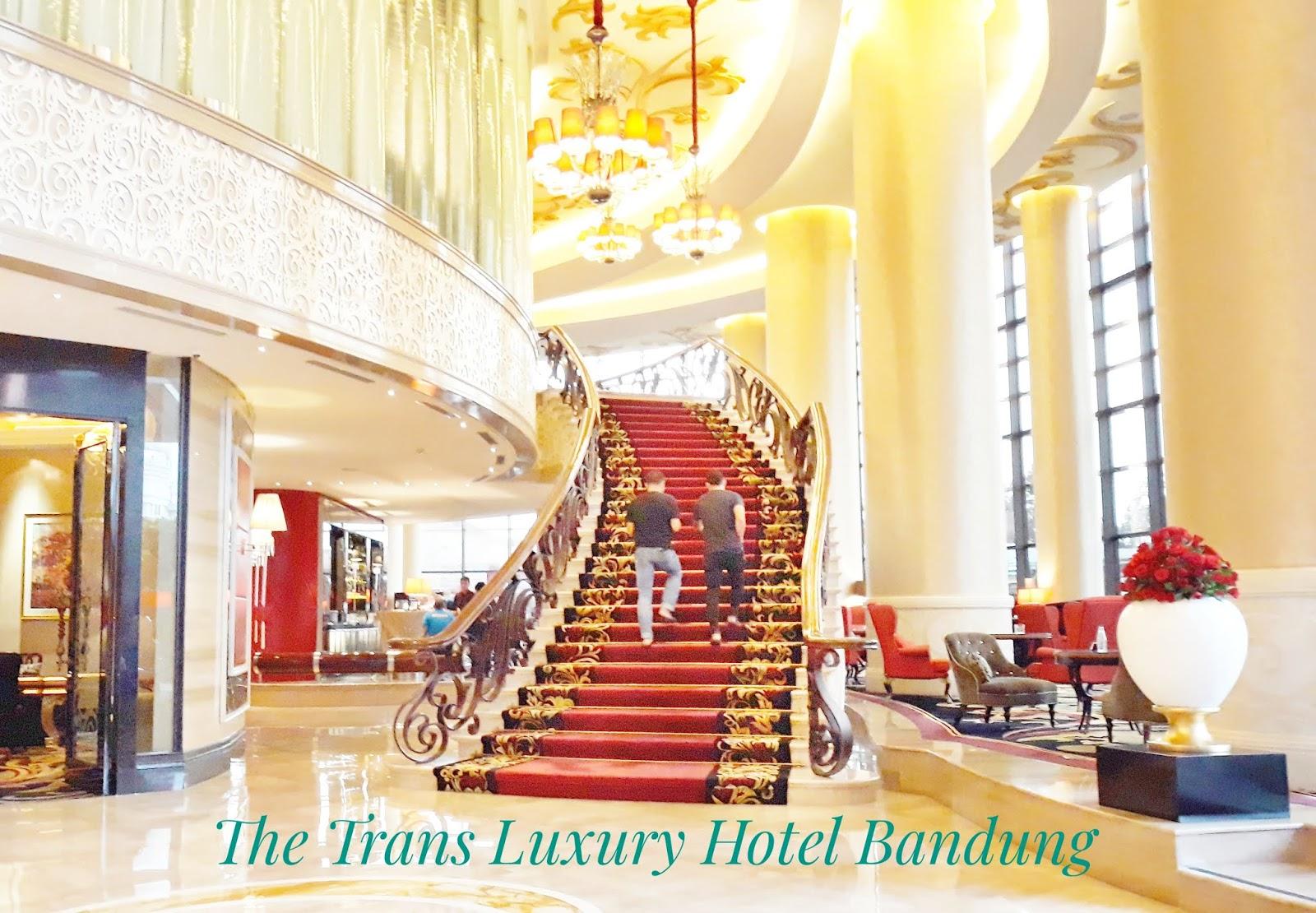 Singgah di Presidential Suite The Trans Luxury Hotel Bandung