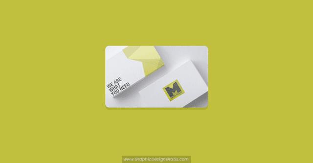 Mockups de tarjetas de presentación gratis en PSD
