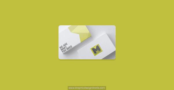 Mockups de tarjetas de presentación ▷ Visita 【 GRATIS 】