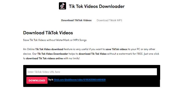 تحميل فيديوهات تيك توك للكمبيوتر والموبايل – اسهل الطرق