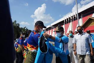Gubernur Lepas 101 Atlet Jambi ke PON XX Papua.