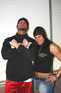 Cm Punk With Ex Girlfriend Traci Brooks