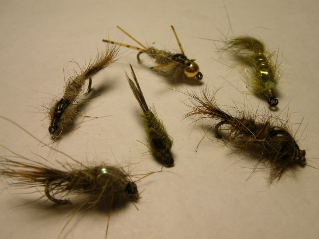 Fly Carpin Hare S Ear Nymphs For Carp