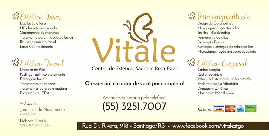 Vitale - O essencial é cuidar de você por completo!