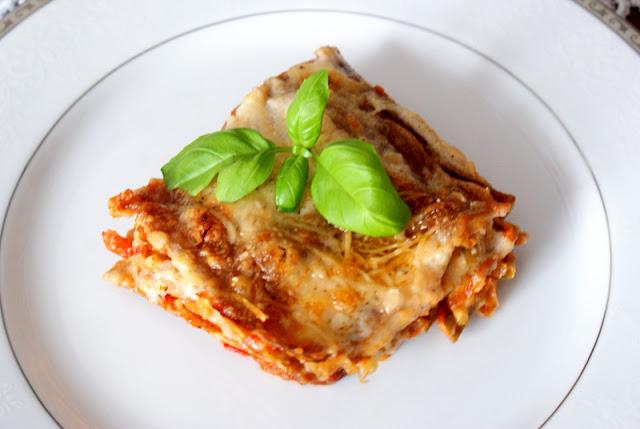 lasagne,wegetariańskie lasagne,lasagne bez mięsa,mrożonki hortex,włoskie lasagne,kuchnia włoska,