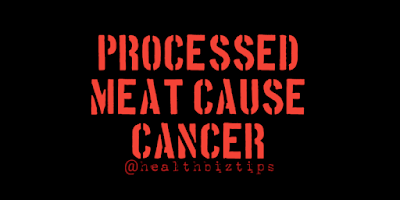 Processed meat cause Cancer