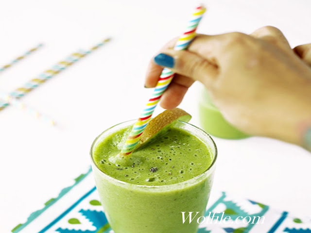 Delicious Green Smoothie Recipe #Smoothie #Drink