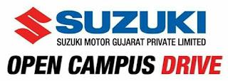 ITI Jobs Campus Placement Drive in Himachal Pradesh For Suzuki Motor Gujarat  Pvt Ltd Company at 5th to 7th April 2021