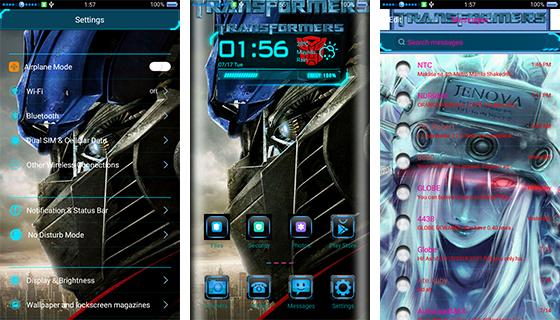 Oppo Theme: Oppo Transformer Theme