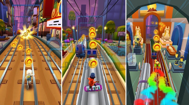 How to play inside Subway Surfers