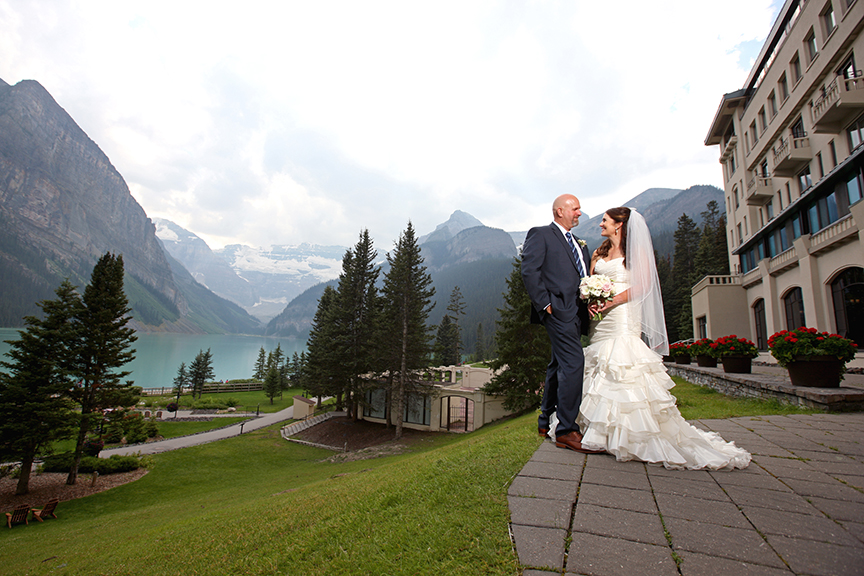 Summer Elopement at Lake Louise Meadow