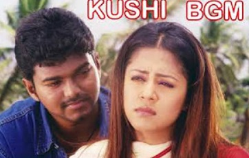 Vijay & Jyothika Super Hit Best BGM | Kushi