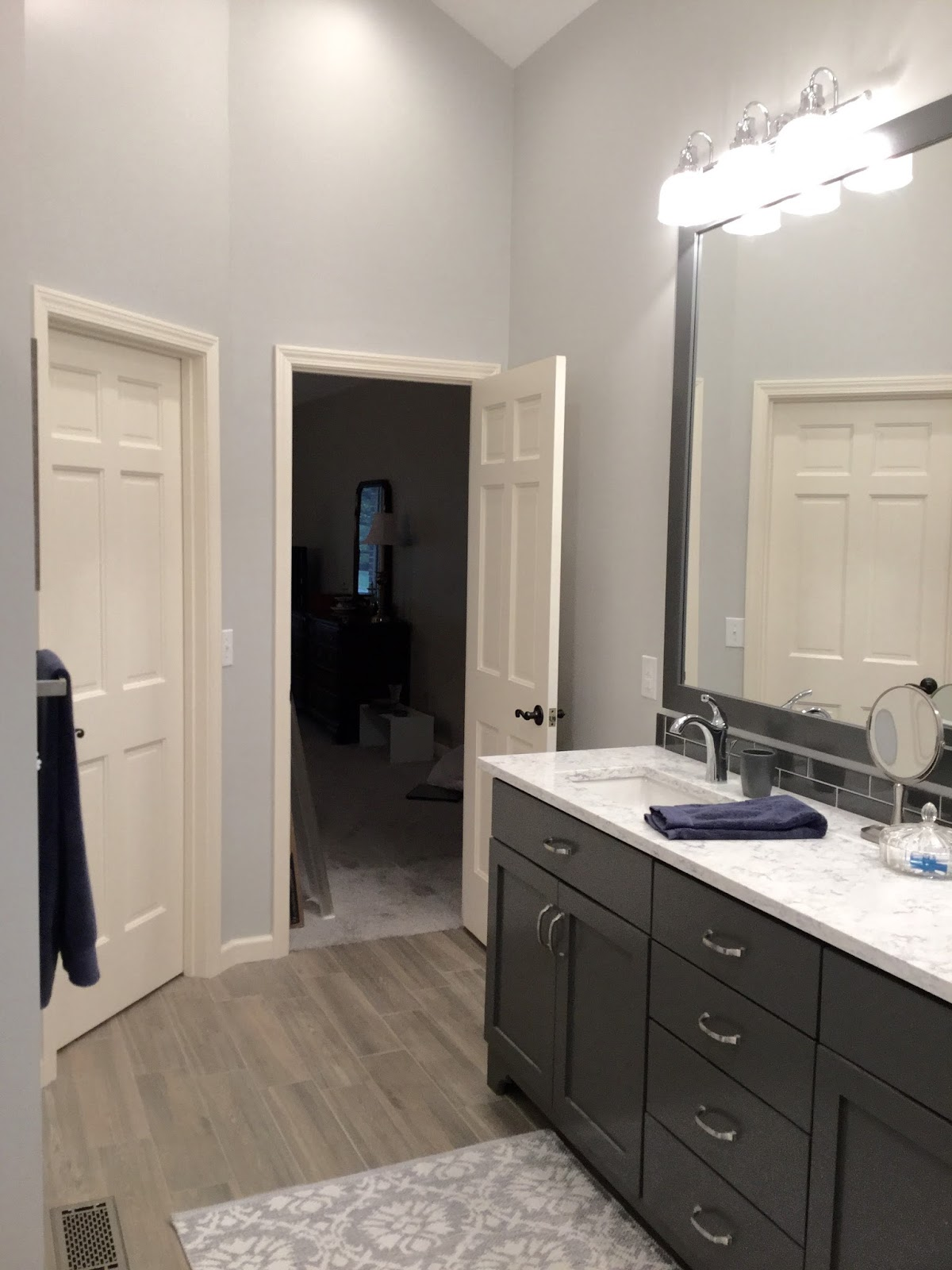 Spectacular Hope you enjoyed seeing this Master Bathroom en suite renovation e to life Onto the next project