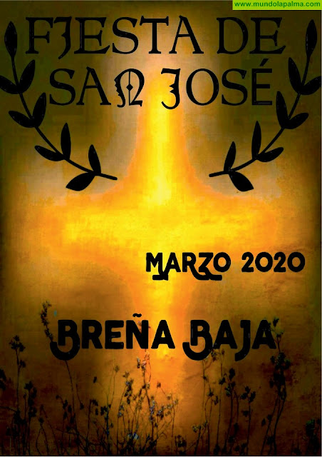 Programa de la fiesta de San José 2020 en Breña Baja