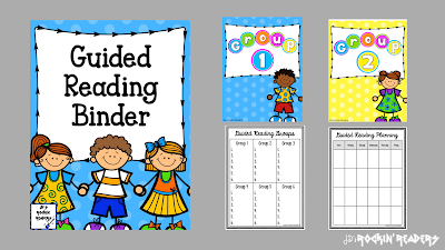 This free guided reading binder will help you get organized for your guided reading groups!  Perfect for the kindergarten, first grade, and second grade teacher!  Check it out here!