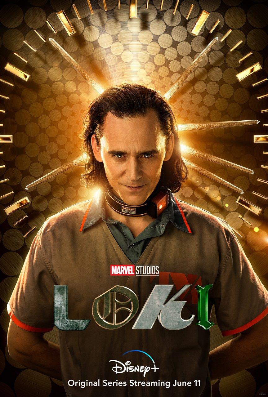 Disney + divulga pôster da série Loki com Tom Hiddleston