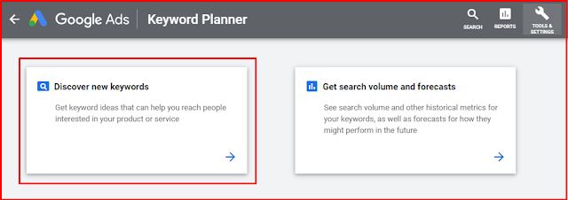 How To Use Google Keyword Planner Tool Free 2020