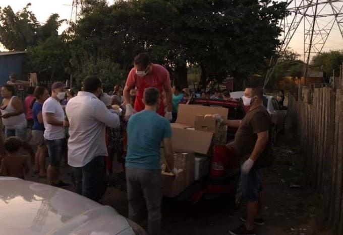Grupo Marmitas Solidárias faz ação solidária em Cachoeirinha